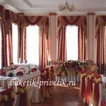 Бант на стулья на свадьбу