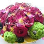 Черепаха из цветов