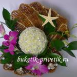 Жемчужина из цветов