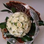 Жемчужинка из роз